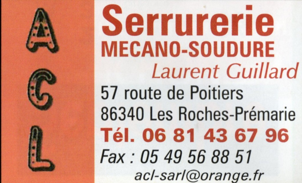 ACL SERRURERIE-SOUDURE-LAURENT GUILLARD