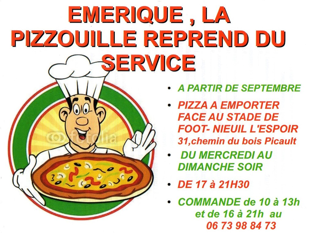 EMERIQUE PIZZAS