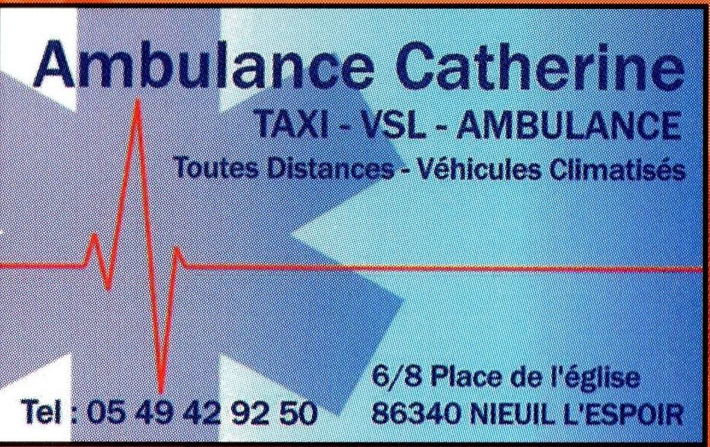 AMBULANCE CATHERINE