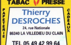 TABAC PRESSE THIERRY DESROCHES